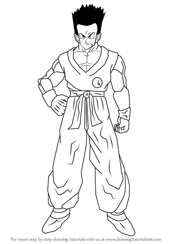 Learn How to Draw Yamcha from Dragon