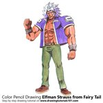 How to Draw Elfman Strauss from Fairy Tail