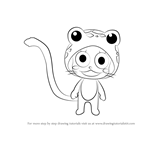 How to Draw Frosch from Fairy Tail