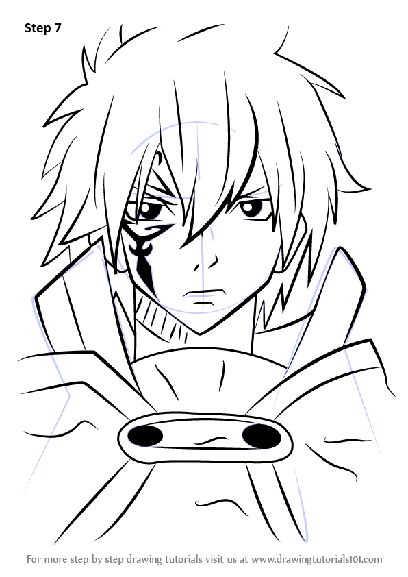 Learn How To Draw Jellal Fernandes From Fairy Tail Fairy