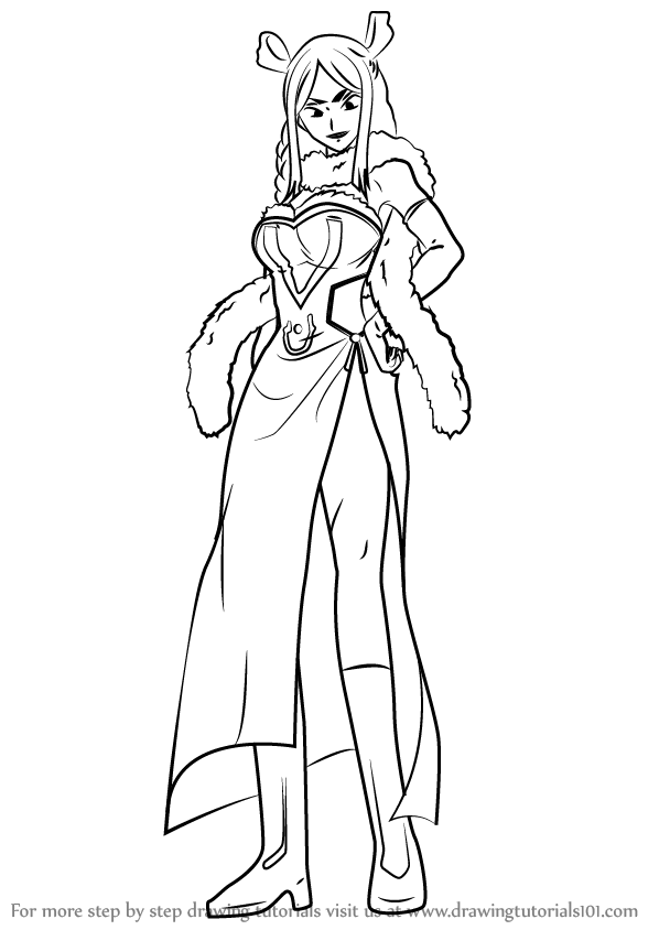 Learn How To Draw Minerva Orland From Fairy Tail Fairy