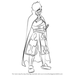 How to Draw Rogue Cheney from Fairy Tail