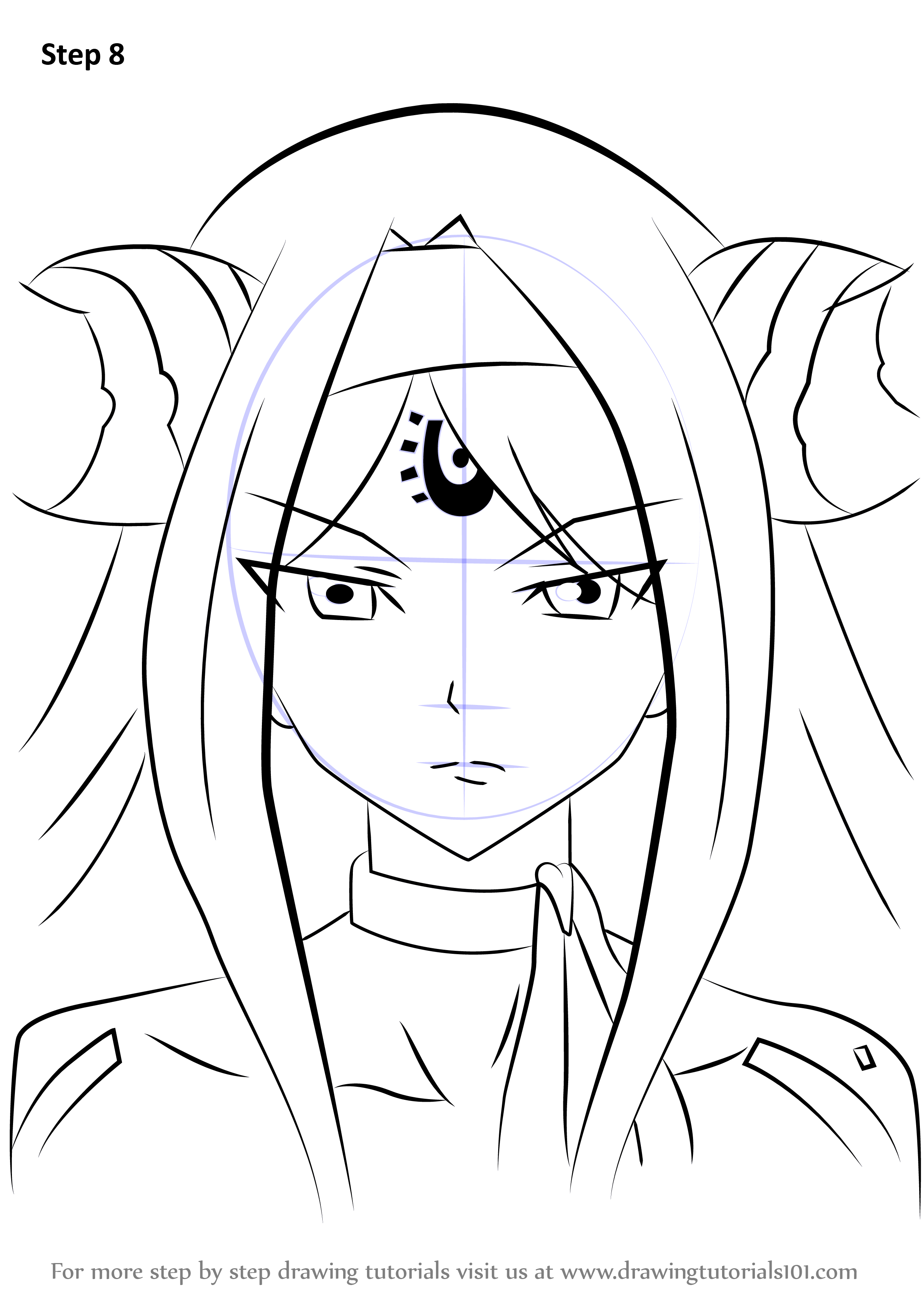 Learn how to draw seilah from fairy tail fairy tail step for How to draw a cartoon fairy