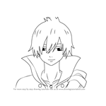 How to Draw Zeref Dragneel from Fairy Tail