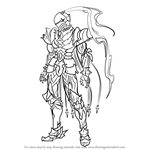 How to Draw Berserker from Fate-Zero