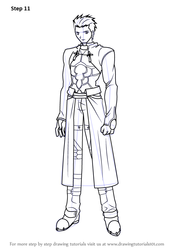 Learn How to Draw Archer from Fatestay night Fatestay