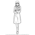How to Draw Ayako Mitsuzuri from Fate-stay night