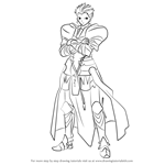 How to Draw Gilgamesh from Fate-stay night