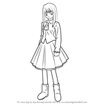 How to Draw Illyasviel von Einzbern from Fate-stay night
