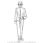 How to Draw Issei Ryuudou from Fate-stay night