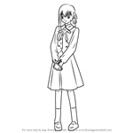 How to Draw Sakura Matou from Fate-stay night