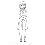 How to Draw Yukika Saegusa from Fate-stay night