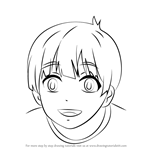 How to Draw Ren Tachibana from Free!