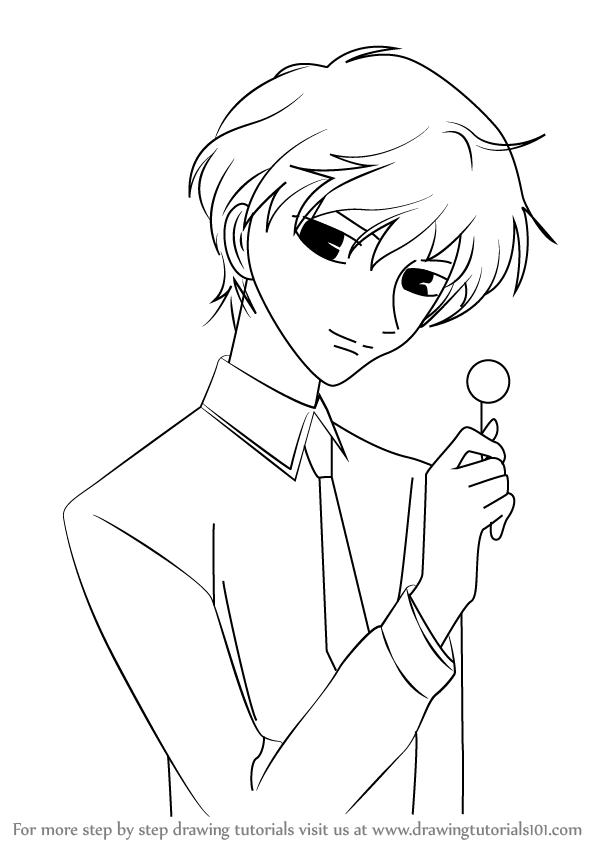 learn how to draw momiji sohma from fruits basket fruits basket step by step drawing tutorials
