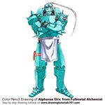 How to Draw Alphonse Elric from Fullmetal Alchemist