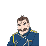 How to Draw Major General Harris from Fullmetal Alchemist