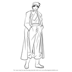 How to Draw Roy Mustang Full Body from Fullmetal Alchemist