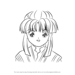 How to Draw Chiriko from Fushigi Yuugi
