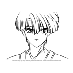 How to Draw Suboshi from Fushigi Yuugi