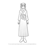 How to Draw Takiko Okuda from Fushigi Yuugi