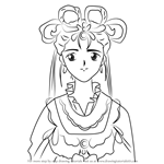 How to Draw You Houki from Fushigi Yuugi