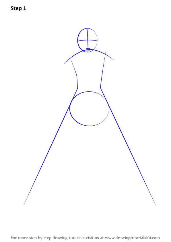 how to draw a long coat on a person