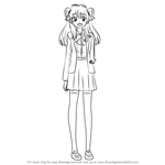 How to Draw Chiyo Sakura from Gekkan Shoujo Nozaki-kun