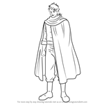 How to Draw Abuto from Gin Tama