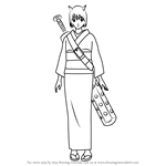 How to Draw Gedomaru from Gin Tama