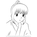 How to Draw Haji from Gin Tama