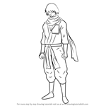 How to Draw Hattori Zenzou from Gin Tama