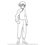 How to Draw Kagura from Gin Tama