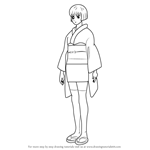 How to Draw Matsudaira Kuriko from Gin Tama