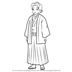 How to Draw Mori Mori from Gin Tama