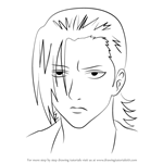 How to Draw Nakamura Kyoujirou from Gin Tama