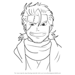 How to Draw Obi Hajime from Gin Tama