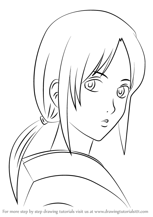 Learn How to Draw Ofusa from Gin Tama Gin Tama Step by