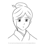 How to Draw Okaru from Gin Tama