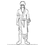 How to Draw Sakata Gintoki from Gin Tama