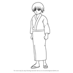 How to Draw Seita from Gin Tama