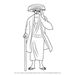 How to Draw Takasugi Shinsuke from Gin Tama