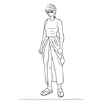 How to Draw Tatsumi from Gin Tama