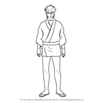 How to Draw Terada Tatsugorou from Gin Tama