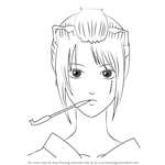 How to Draw Tsukuyo from Gin Tama