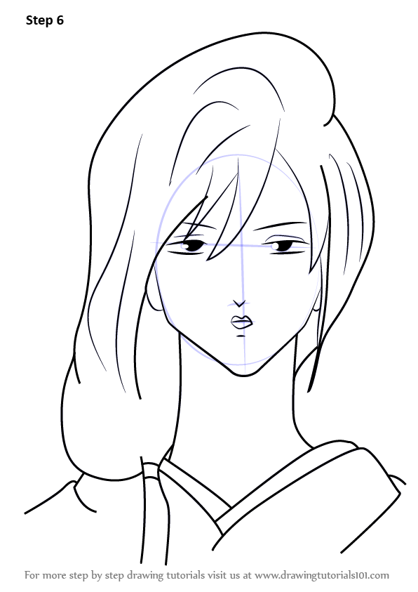 Learn How to Draw Zurako from Gin Tama Gin Tama Step by