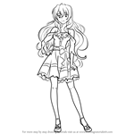 How to Draw Kouko Kaga from Golden Time