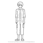 How to Draw Nijigen-kun from Golden Time