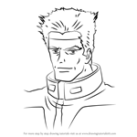 How to Draw Adam Stingray from Gundam
