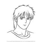 How to Draw Afranche Char from Gundam