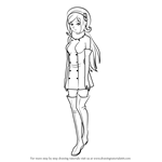How to Draw Aila Jyrkiainen from Gundam